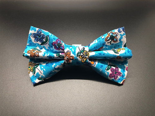 Butterfly Florals (Bow Tie)