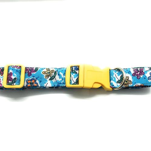 Butterfly Florals 15mm Collar