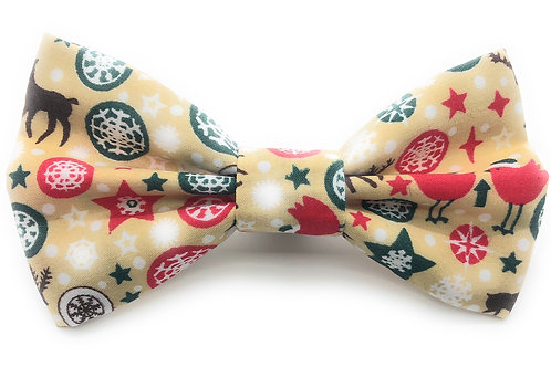 Stags and Robins and Stars, Oh My! Bow Tie