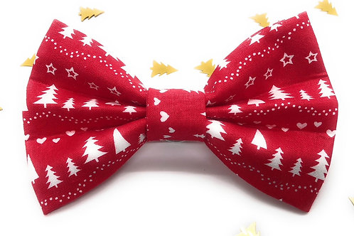 Red Forest Bow Tie