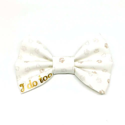 'I Do Too' Bow Tie - Add On