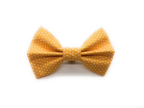 Dotted Mustard Bow