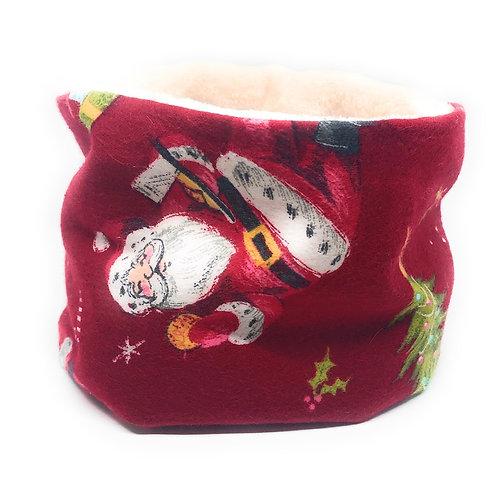 Santa's Snood (Cream Reverse)