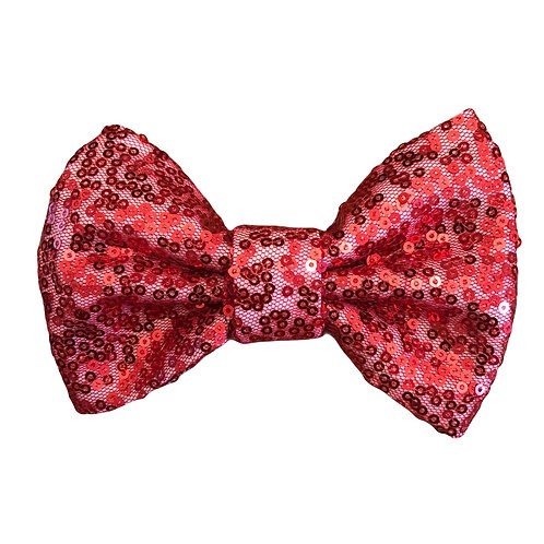 Ruby Red (Sequin Bow)