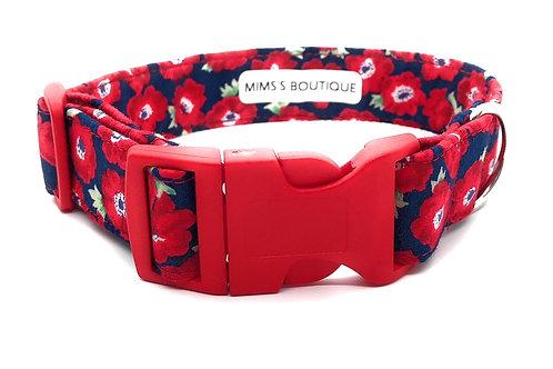 Poppy Field 25mm Collar