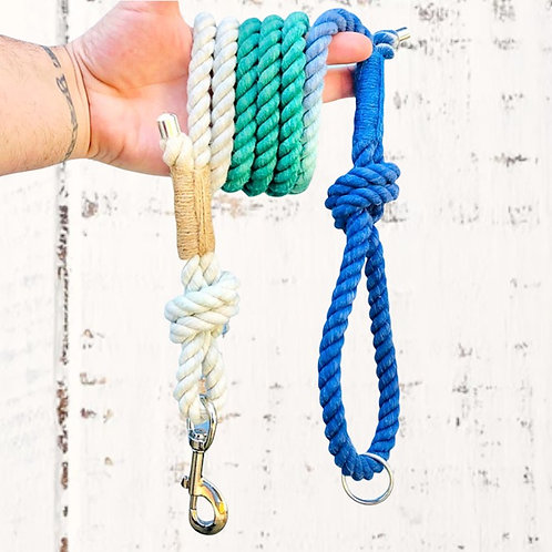 Beach Vibes Cotton Rope Lead
