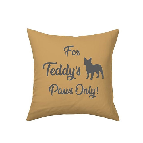 Name's Paws Only Cushion Cover