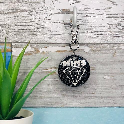 Diamonds ID Tag