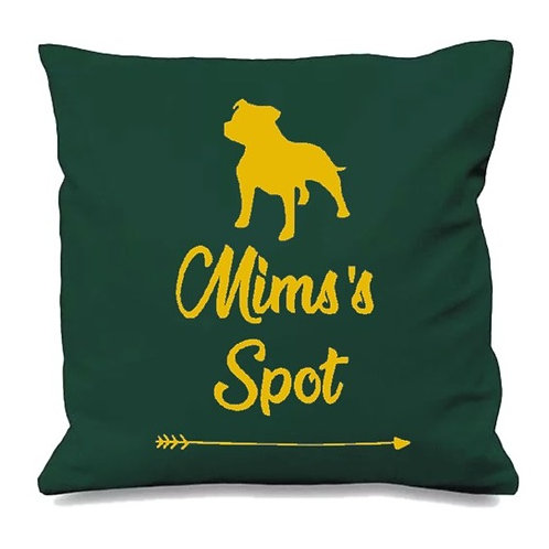 Name's Spot Cushion Cover