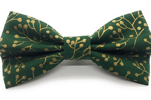 Festive Gold (Ivy Green) Bow Tie