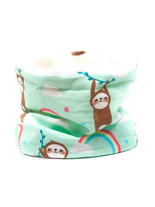 Rainbow Sloths Snood