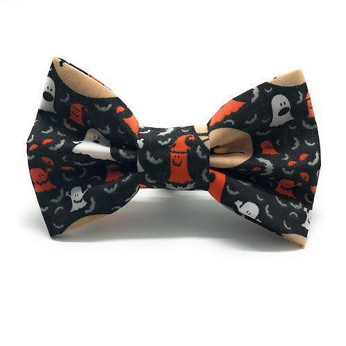 Ghouls Night Out (Black) Bow Tie