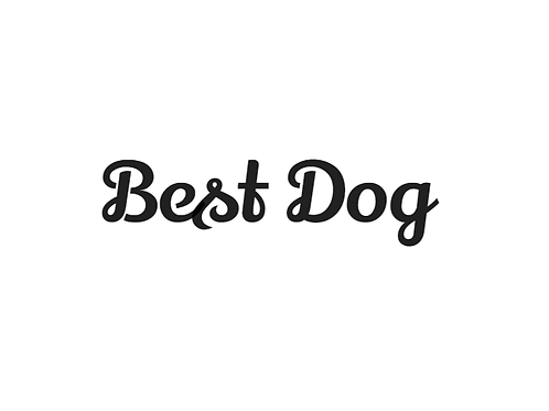 'Best Dog' Bow Tie - Add On