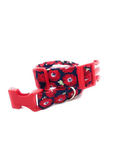 Poppy Field 15mm Collar