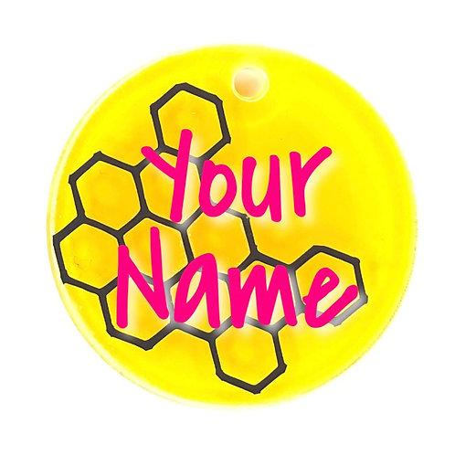 Bee Mine ID Tag