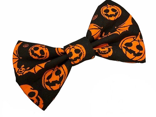 Happy Howl'oween Bow Tie (Black)