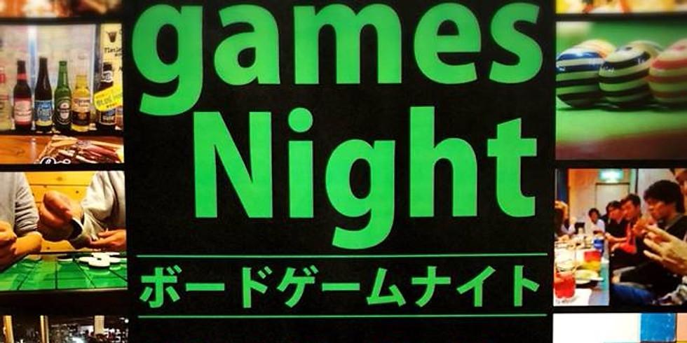 【要申込】Board Games Night ~ボードゲームナイト~