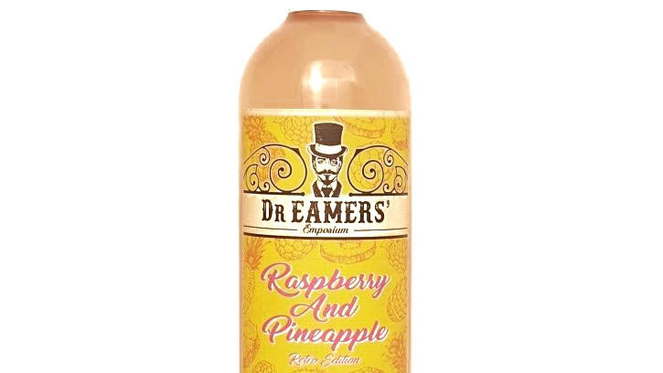 Dr Eamers Raspberry and Pineapple