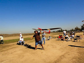 Remote control airplane club in Costa Mesa, CA