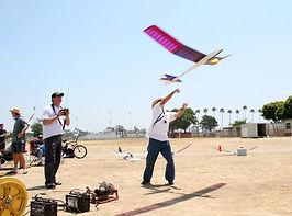 Remote control airplane club in Costa Mesa, CA