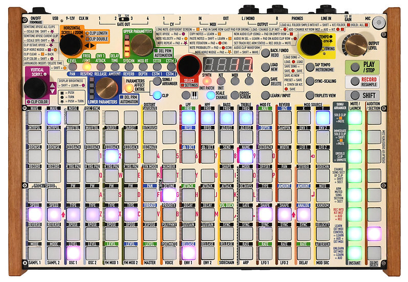"""""""Sand"""" Overlay For Synthstrom Deluge"""