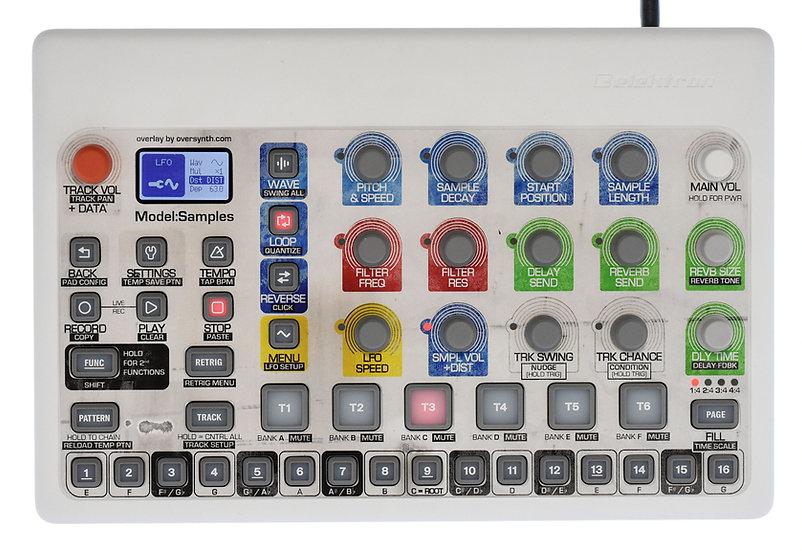"""""""Retro SciFi"""" Overlay For Elektron Model:Samples"""
