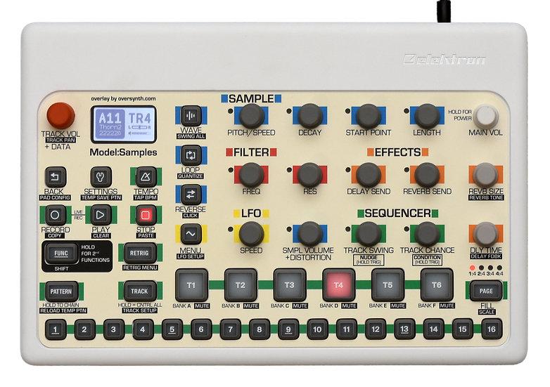 """""""Vintage Cream"""" Overlay For Elektron Model:Samples"""