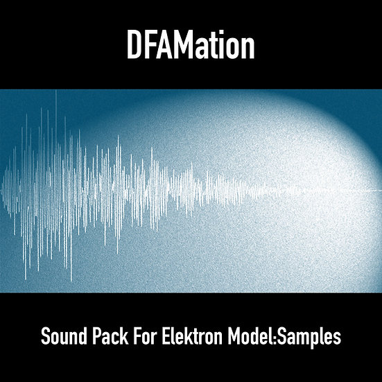 """DFAMation"" Percussion Sound Pack for Elektron Model:Samples"