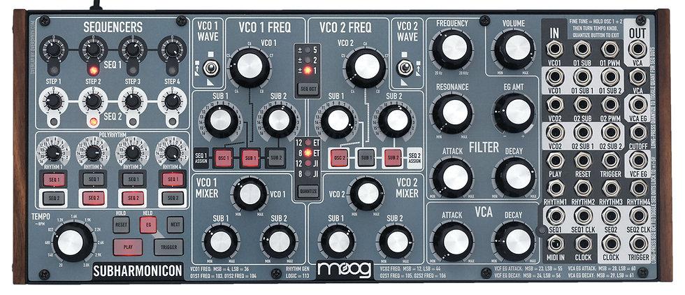"""""""Bluephase"""" Overlay For Moog Subharmonicon"""