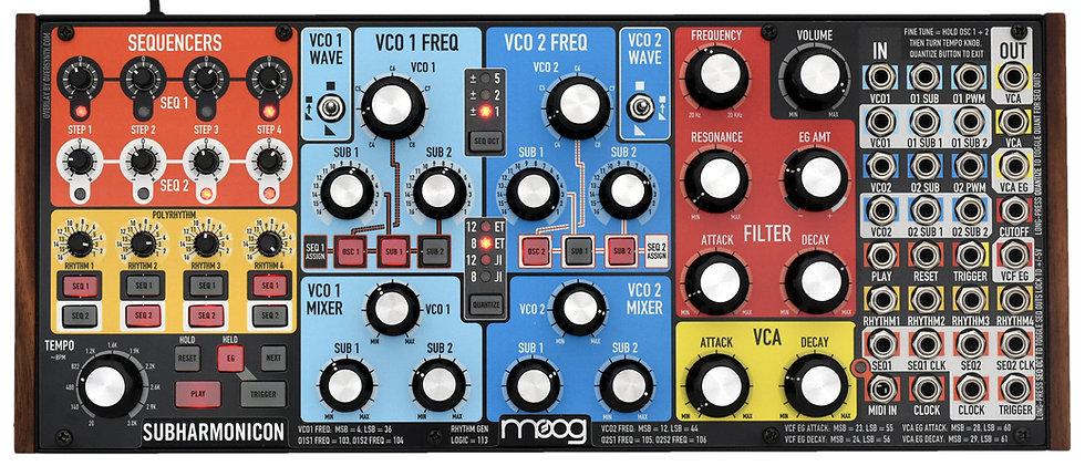 """Legend"" Overlay For Moog Subharmonicon"