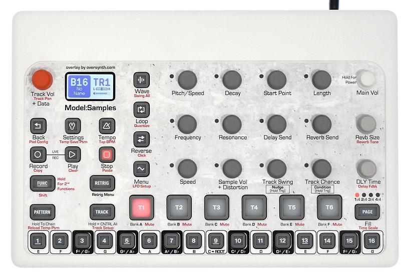 """""""Abstract #42 + Keys"""" Overlay For Elektron Model:Samples"""