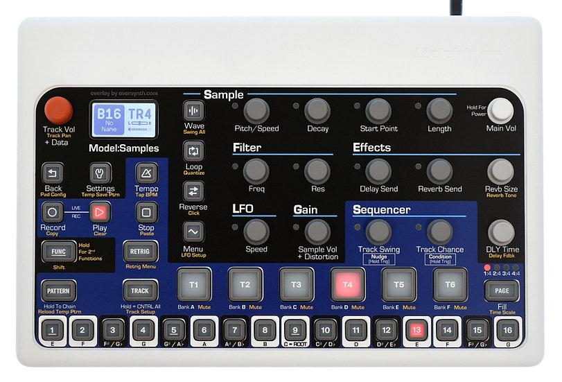 """""""Mt. Hood"""" Overlay For Elektron Model:Samples"""