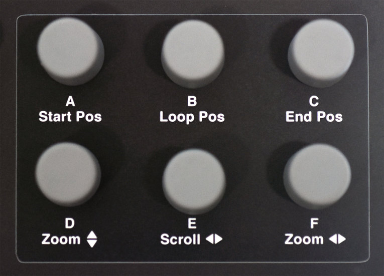 """Encoder"" Overlay For Elektron Octatrack Mk 1"