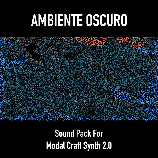 """""""Ambiente Oscuro"""" SciFi Sound Pack for Modal Craft Synth 2.0"""