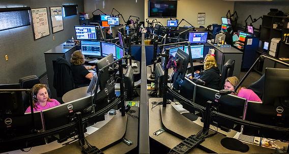 Dispatchers taking calls