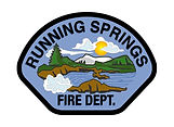 Running Springs Fire Department Logo