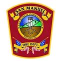 San Manuel Fire Department Logo