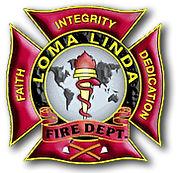 Loma Linda  Fire Department Logo
