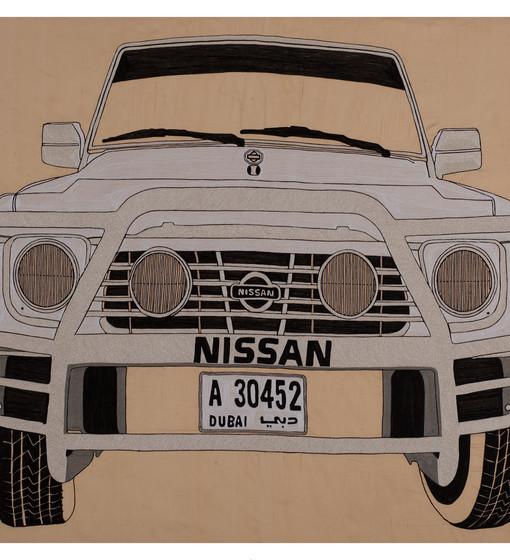 Nissan Patrol (Front)-2010