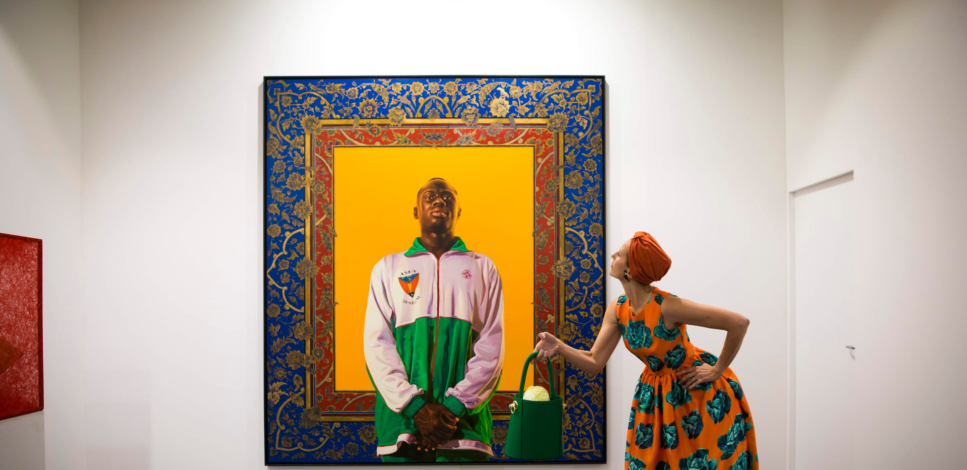 Silence with Idrissa Ndiaye by Kehinde Wiley