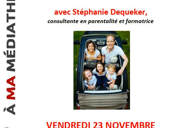 Conférence sur la parentalité positive