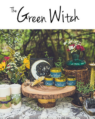 The Green Witch Image option 2 GreenWitc
