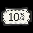 10% de desconto