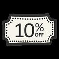 10% reduziert