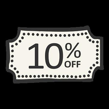 10% de descuento
