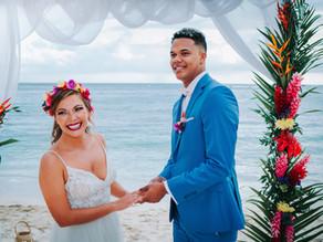 Tropical Wedding Day