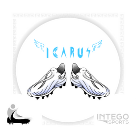 """Icarus"" Cleat Mock-Up design 2/3 for Intego Sports"