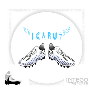 """""""Icarus"""" Cleat Mock-Up design 2/3 for Intego Sports"""