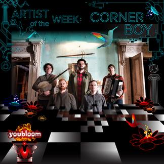 """""""Corner Boy"""" Artist of the Week Graphic"""