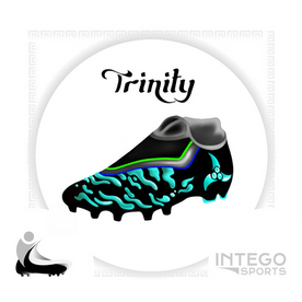 """Trinity"" Cleat Mock-Up design 3/3 for Intego Sports"